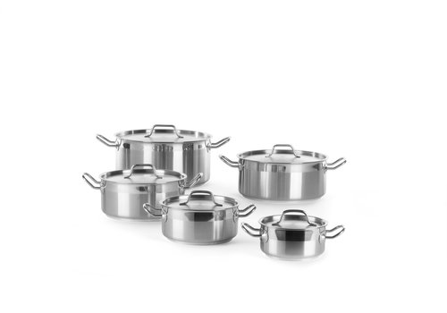 Hendi Stainless Steel Cooker With Lid | 5 Formats