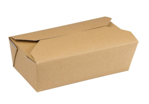 HorecaTraders rectangular food boxes | 250 pieces | 985 ML