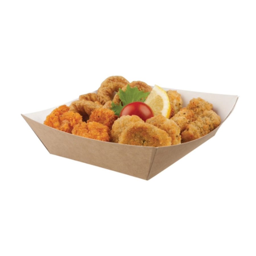 Degradable food containers | 14.8cm | 500 pcs