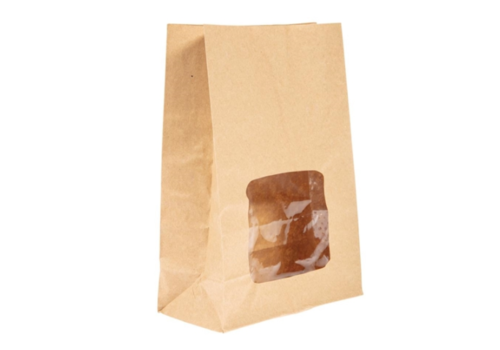 HorecaTraders Degradable sandwich bags | 250 pieces | 23 (h) x 15.2 (w) x 7.6 (d) cm