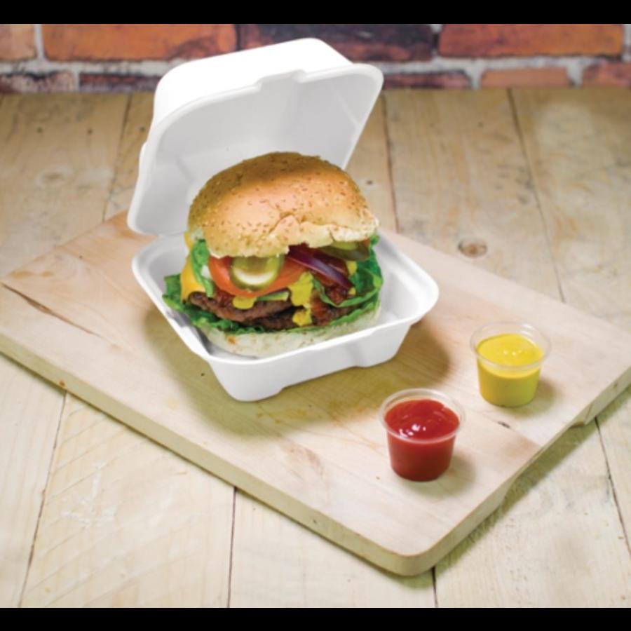 Degradable hamburger containers | 500 pieces | 15.2cm