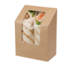 HorecaTraders Degradable wrap box | 500 pieces | 12.1 (h) x 9 (w) cm