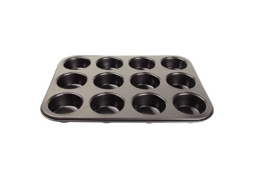 Vogue Non-stick muffin baking molds 12 forms