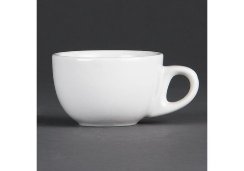 Olympia Espresso cup White Porcelain 8,5cl | 12 pieces