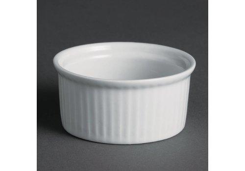 Olympia Small Ramekin White Porcelain | 12 pieces