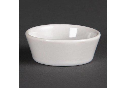 Olympia White Porcelain Bowls 5cm | 12 pieces