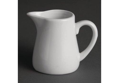 Olympia Kaffee Milch weißes Porzellan kann 17 cl (6 Stück)
