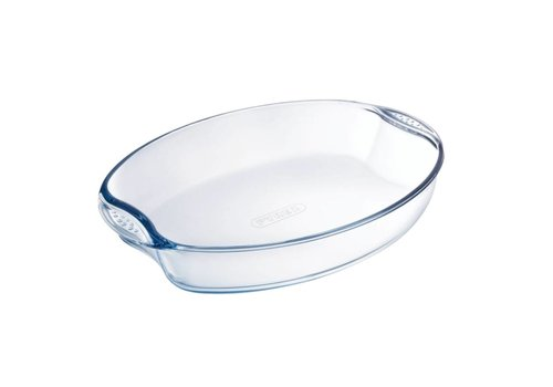 Pyrex Oval glass baking dish | 30x21cm