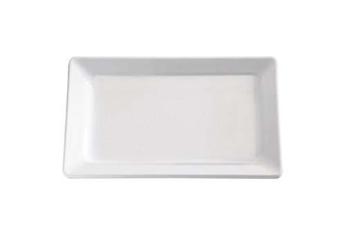 HorecaTraders Pure Melamine Bowl White 5 Formats