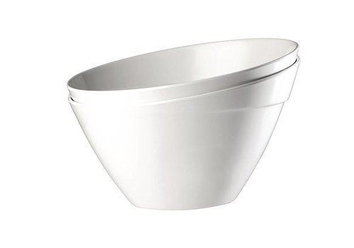 HorecaTraders White Melamine Bowl | 3 Sizes