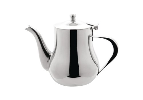 HorecaTraders Arabic stainless steel coffee pot | 2 formats
