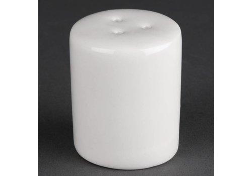 Athena Porcelain white pepper vats | 12 pieces