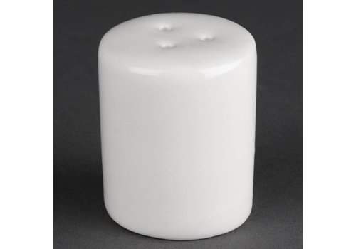 Athena Porselein witte peper vaatjes | 12 stuks