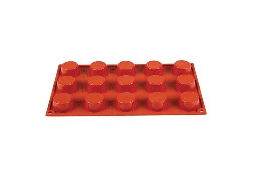 HorecaTraders Formaflex siliconen bakvormen | 15 vormen