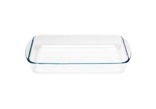 Pyrex Rechthoekig glazen ovenschaal, 350x230mm