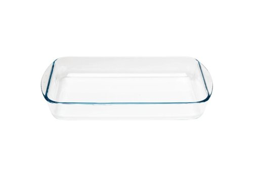 Pyrex Rectangular glass baking dish, 350x230mm