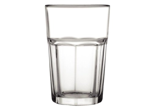 Olympia Drinking glass, half panel, 285 ml (12 pieces)
