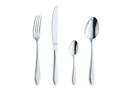 Amefa Stylish stainless pastry forks | 12 pieces
