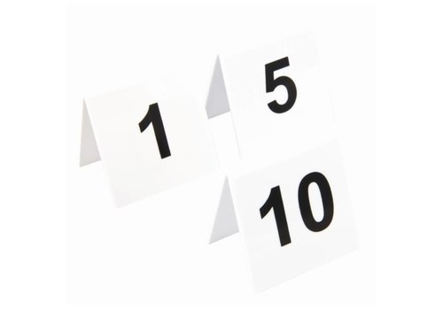 HorecaTraders Table numbers 1 to 40 | 4 choices