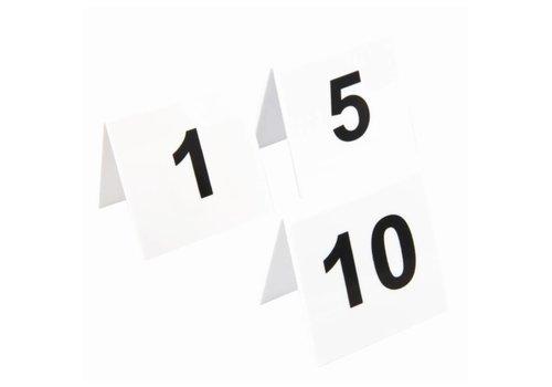 HorecaTraders Tafelnummers 1 t/m 40 | 4 keuzes