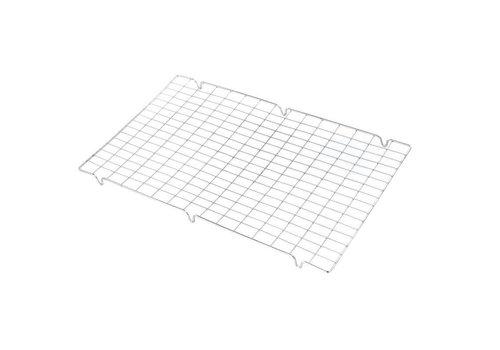 HorecaTraders Afkoelrooster RVS | 42 x 25 cm