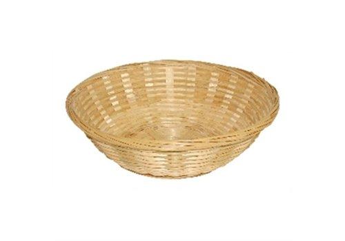 HorecaTraders Bread basket around Ø 20 cm (6 pieces)