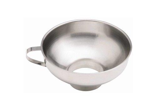 HorecaTraders Stainless steel jam funnel 15 (Ø) cm