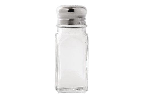 HorecaTraders Pfeffer und Salzverteiler | 12 Stück