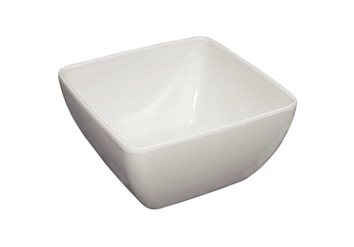 HorecaTraders Kristallon curved bowl white | 2 formats