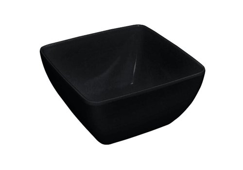 HorecaTraders Kristallon curved bowl black | 2 formats