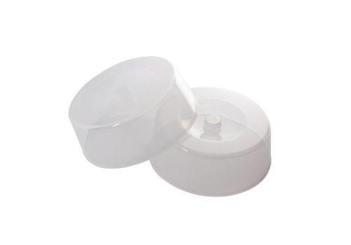 HorecaTraders Polycarbonate plate lid 30cm