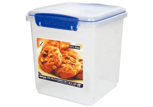 HorecaTraders Klip It Lebensmittelbox 2,3 Liter