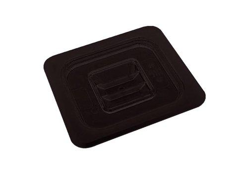 Vogue Plastic GN lid 1/2   black
