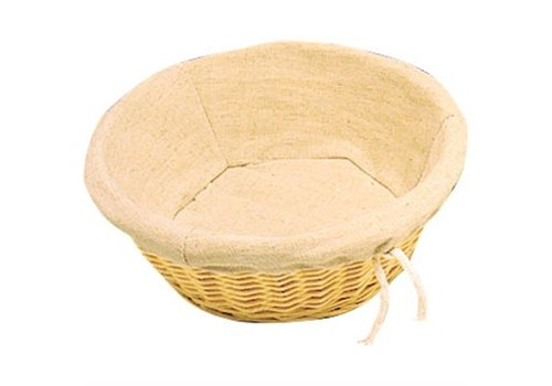 HorecaTraders Bread basket with cover | Ø 23 cm