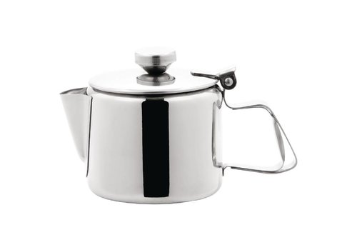 HorecaTraders Stainless steel tea can Stainless coffee pot | 6 formats
