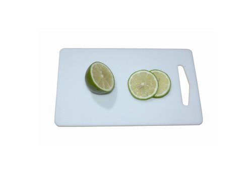 HorecaTraders Plastic cutting board | 15 x 26 cm