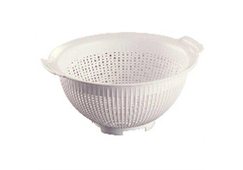 Araven Plastic colander white 24 cm Ø