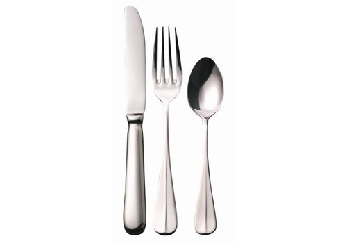 HorecaTraders Horeca Cutlery Sample Set Stainless Steel