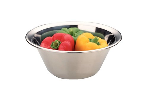 HorecaTraders Stainless steel mixing bowl | 8 Dimensions