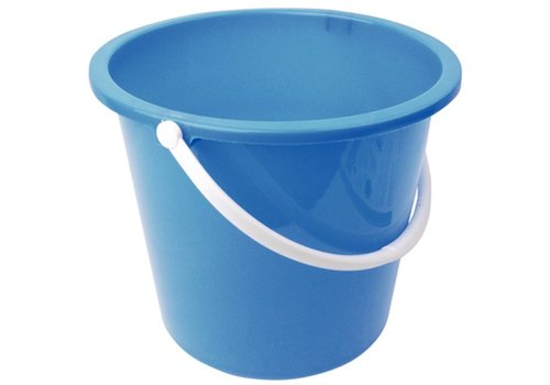HorecaTraders Plastic bucket 10 liters | 4 Colours