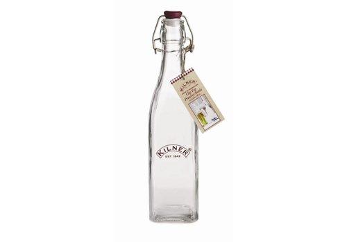 HorecaTraders Kilner Flasche mit Bügelverschluss 0,55 Liter