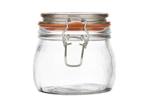 HorecaTraders Einmachgläser 0.5 Liter