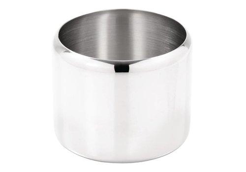 HorecaTraders Stainless steel sugar bowls 2 formats
