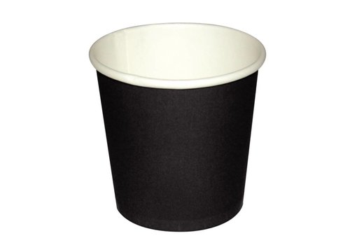 HorecaTraders Espresso cup dark brown (50 pieces)
