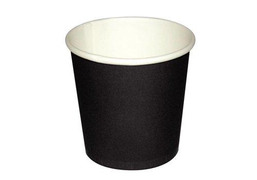 HorecaTraders Espressotasse dunkelbraun (50 Stück)