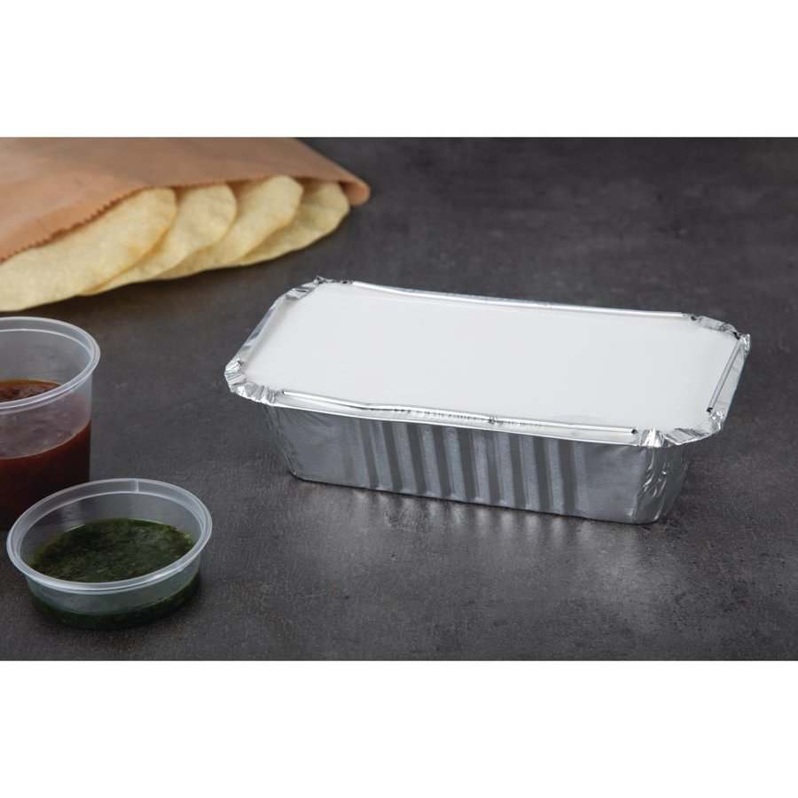 Lid of Takeout tray 500 pieces