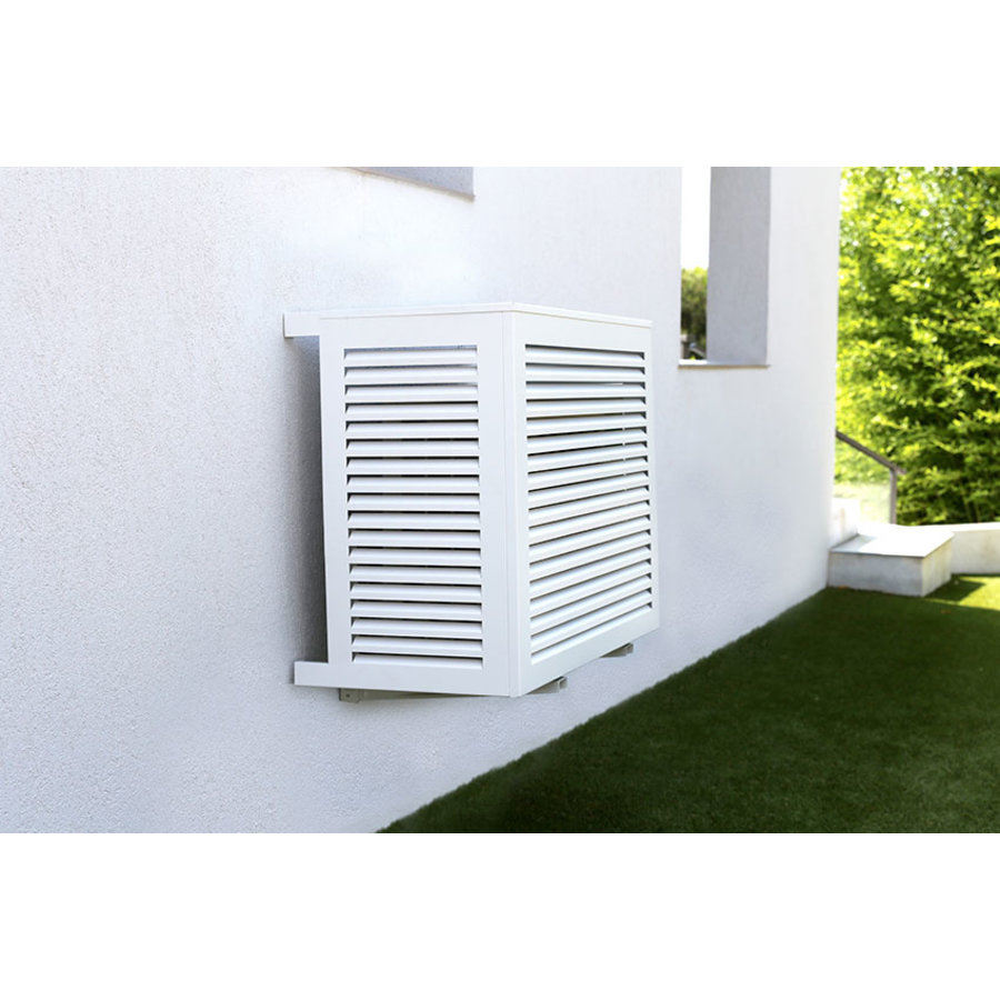 Aluminum protective cage for outdoor unit