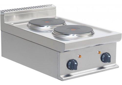 Saro Elektrische kooktoestel | 2 platen