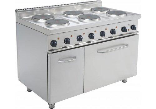 Saro Elektrisch Fornuis met oven | 6 Platen