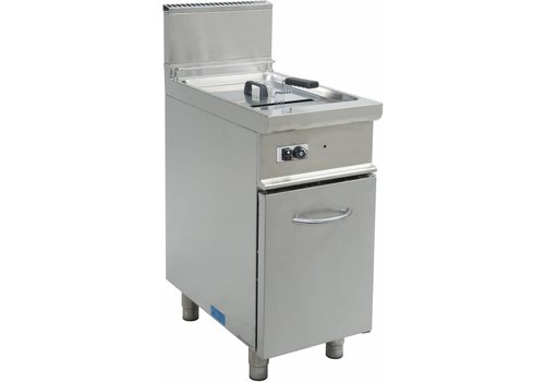 Saro Gasfritteuse with Mount with Door 17 Liter